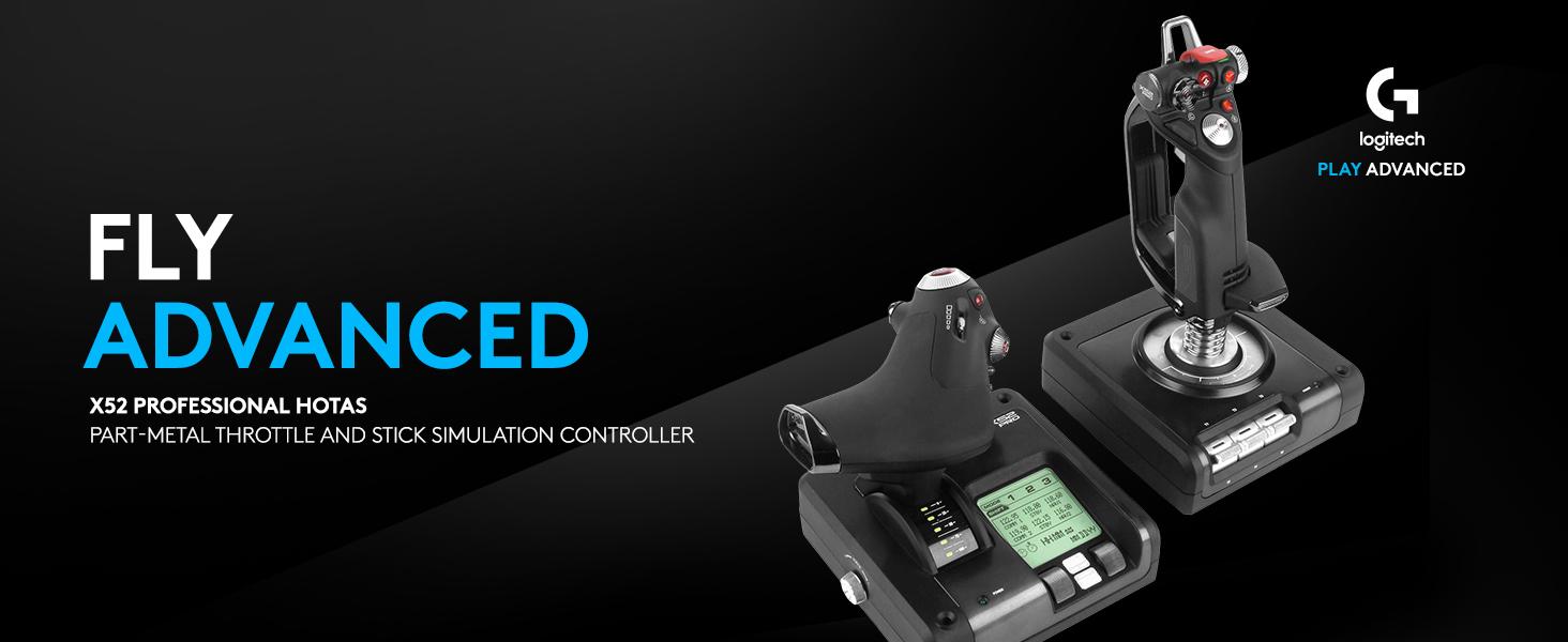 Logitech X52 Pro Flight Controller