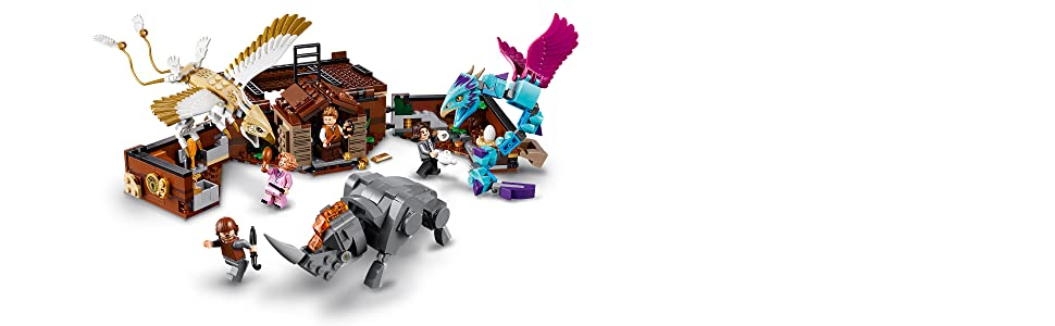 Amazon com: LEGO Fantastic Beasts Newt's Case of Magical