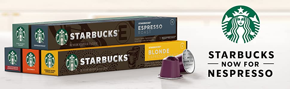 nespresso pods, starbucks pods, coffee pods