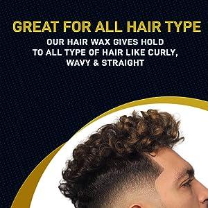 all hair type hair wax