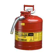 flame arrester, type II, safety cans, red