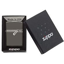 ZIPPO(ジッポ) オイルライター Zipper(ジッパー) PVD加工 21088