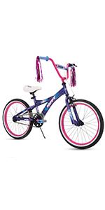 Huffy go girl purple 20 inch bicycle