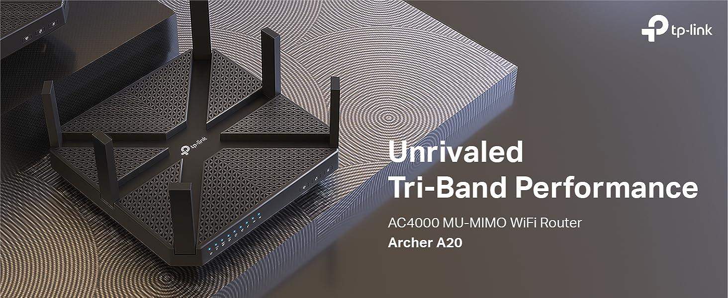 Amazon.com: AC4000 Wireless WiFi MU-Mimo Tri-Band Router de ...