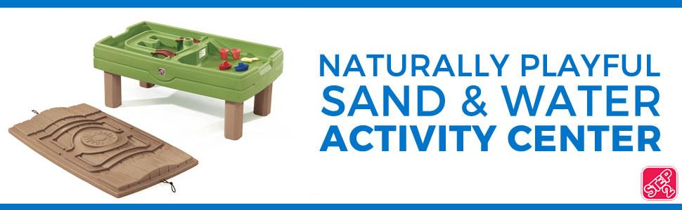 Sand and Water Activity Center