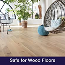 For use on unwaxed and finished wood floors