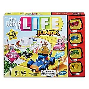 game of life junior, junior, hasbro gaming, boardgame