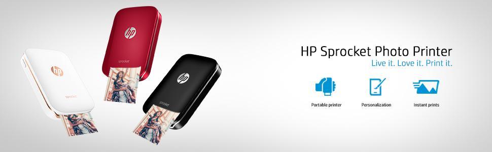 HP Sprocket Photo Printer, mobile printing, photo printers, hp sprocket, sprocket printer, hp photo