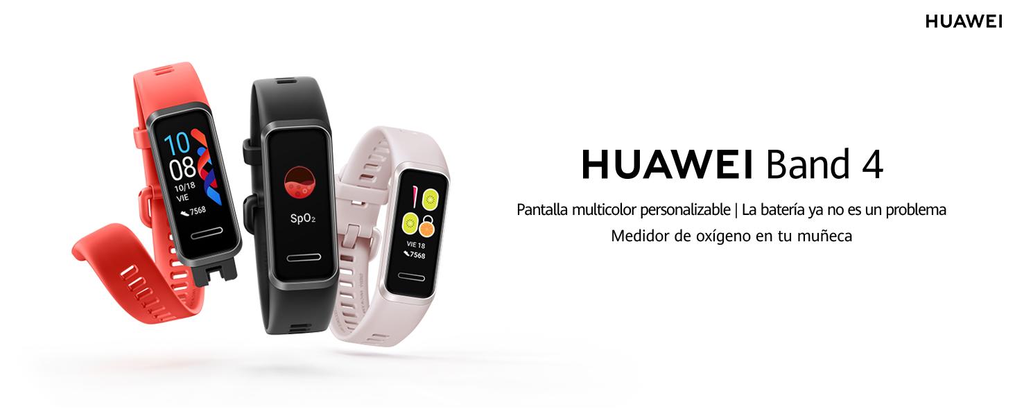 HUAWEI Band 4- Pulsera de actividad con pantalla a color TFT de ...
