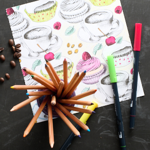 Christian Art Gifts Colored pencils
