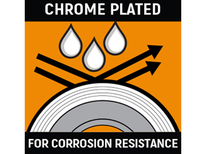 Chrome plating for corrosion resistance infographic
