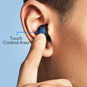 Smart touch earbdus