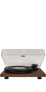 Amazon.com: Crosley C100 Belt-Drive Turntable with S-Shaped ...