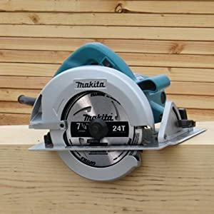 5007 circ saw corded power tool wood cutting woodworking beams consturction framing teal silver