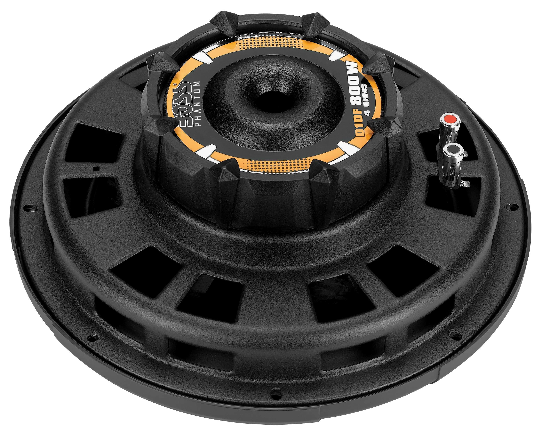 amazon com boss audio d10f 800 watt, 10 inch, single 4 ohm voice boss phantom 12 boss phantom sub wiring diagram series #11