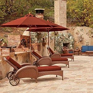 Montlake FadeSafe Patio Umbrella Collection