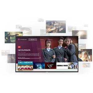"Samsung UE55RU8000U Smart TV 4K Ultra HD 55"" Wi-Fi DVB-T2CS2, Serie RU8000 2019, 3840 x 2160 Pixels, Nero"