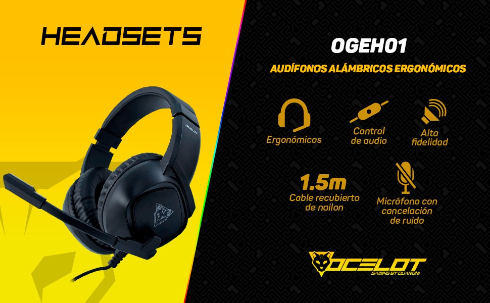 Headsets, auriculares, audifonos gamer