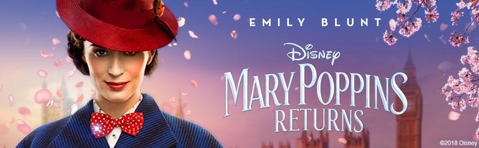 Disney S Mary Poppins Returns Dvd 2018 Amazon Co Uk Emily Blunt Lin Manuel Miranda Meryl Streep Colin Firth Julie Walters Rob Marshall Emily Blunt Lin Manuel Miranda Dvd Blu Ray