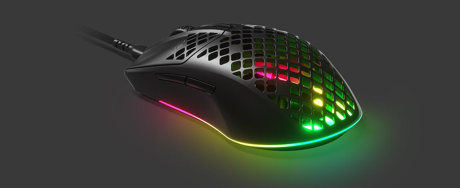 Steelseries Aerox 3 Superleichte Gaming Maus Computer Zubehör