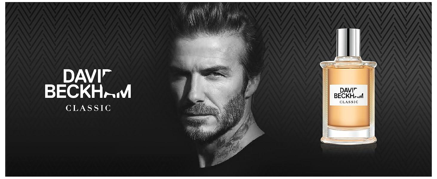 David Beckham Classic Eau de Toilette Perfume for Men, 90ml: Amazon.co.uk:  Beauty