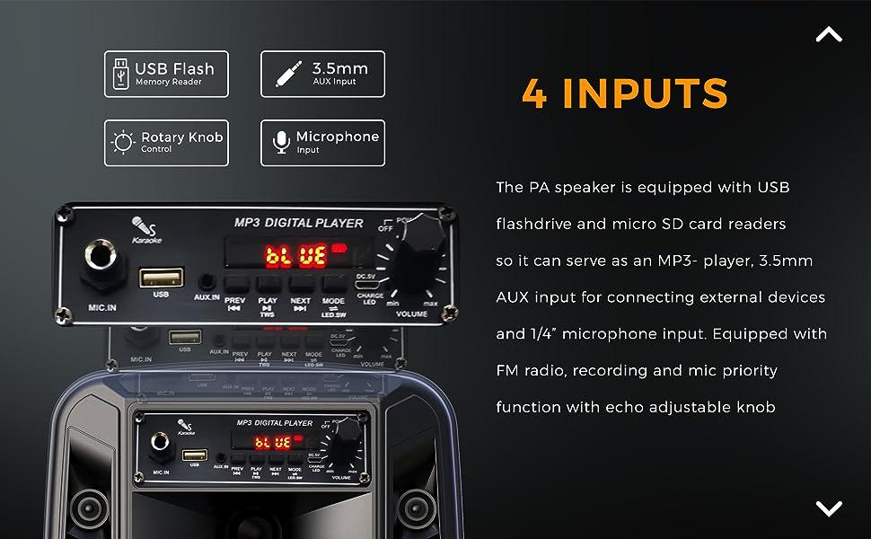 Outdoor speaker, Portable speaker, Pyle Speaker, Bluetooth speaker, Party Speaker, Speaker
