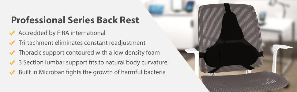 footrest back rest back support