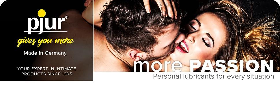 mer passion – personliga smörjmedel för varje situation