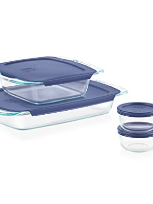 Pyrex 8-Piece Bake and Store Set