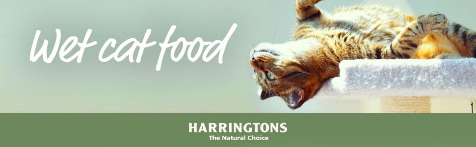 wet cat food harringtons
