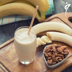 Perder peso de forma natural y deliciosa con una bebida dietética sana de vainilla