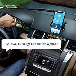 amazon alexa connect car mount