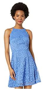 Fit & flare dress, casual dress, lace dress, graduation dress