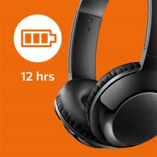 Philips BASS+ SHB3075BK long battery life