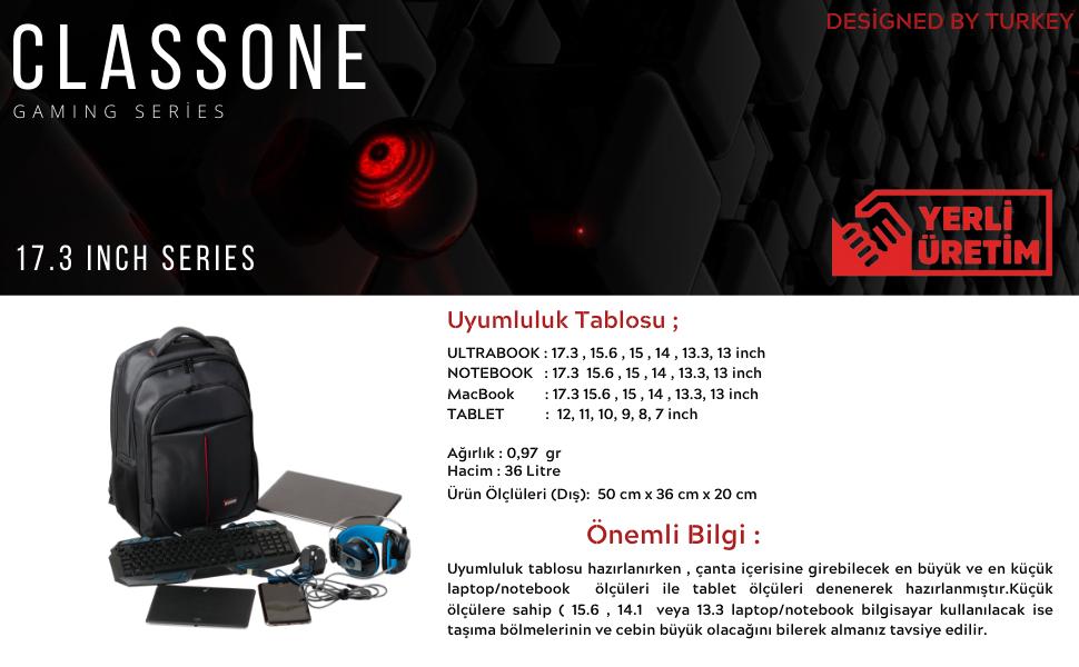 classone;bp-g100;laptop çantası;notebook çantası