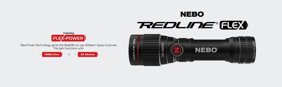 NEBO Redline Flex