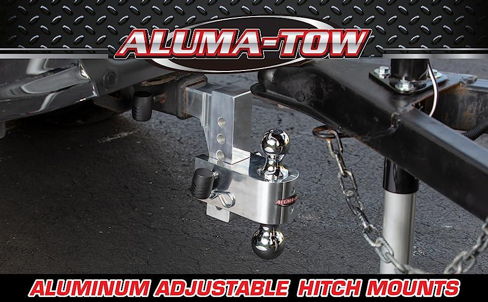 Uriah Products Aluma-Tow, alumatow, tow hitch, aluminum hitch, towing hitch, trailer, rv, hitch