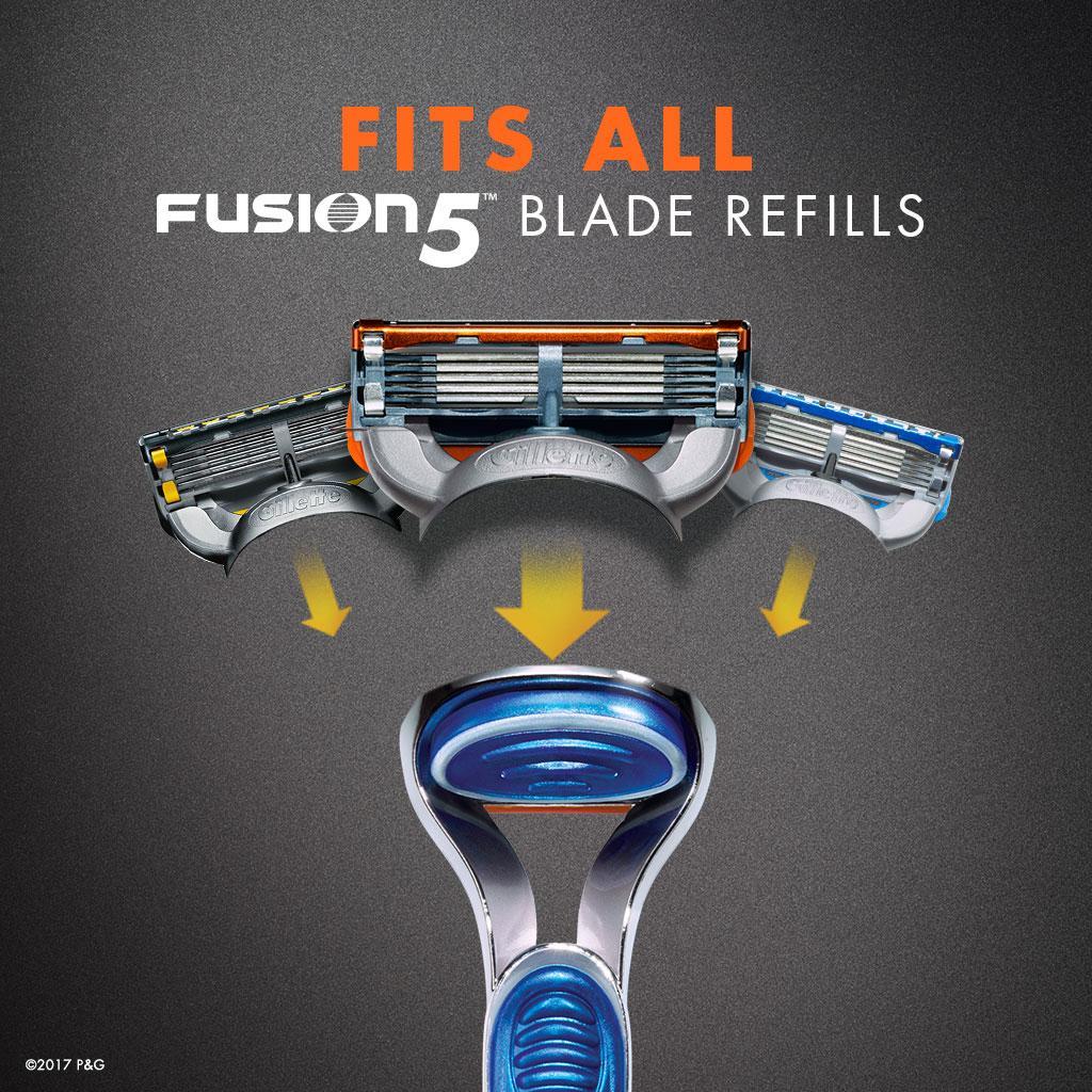 Amazon Com Gillette Fusion Manual Razor Mens Razors