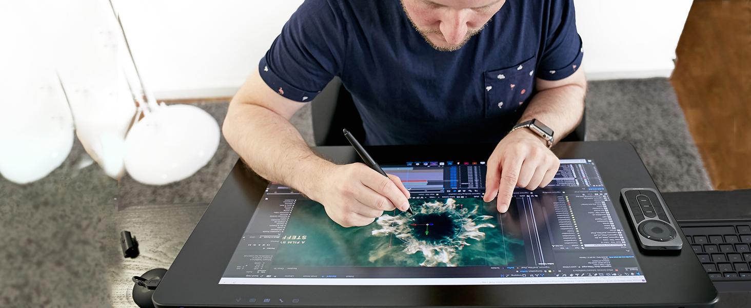 çizim tableti, kamvass, grafik tableti, cintique, grafik çizim monitörü