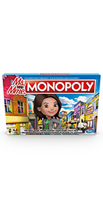 ms monopoly, monopoly, board game, monopoly board game