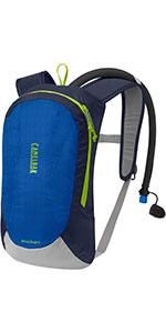 camelbak, kids hydration pack, kids pack, kids ski pack, kids water backpack, hydration backpack