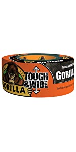 Gorilla Tape Tough & Wide Black duct tape