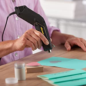 Wagner HT400 Heat Gun for Embossing, Heat Shrink Tubing, Heat Wrapping, Shrink Wrapping, DIY