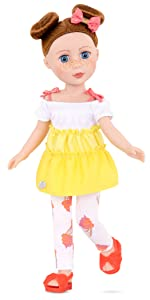 Charlie 14-inch doll Glitter Girls Battat posable doll clothes outfits accessories wellie wishers