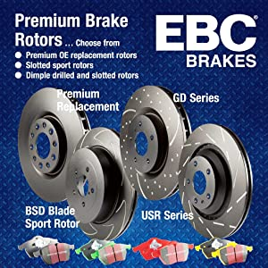 EBC Brakes GD7388 3GD Series Dimpled and Slotted Sport Rotor