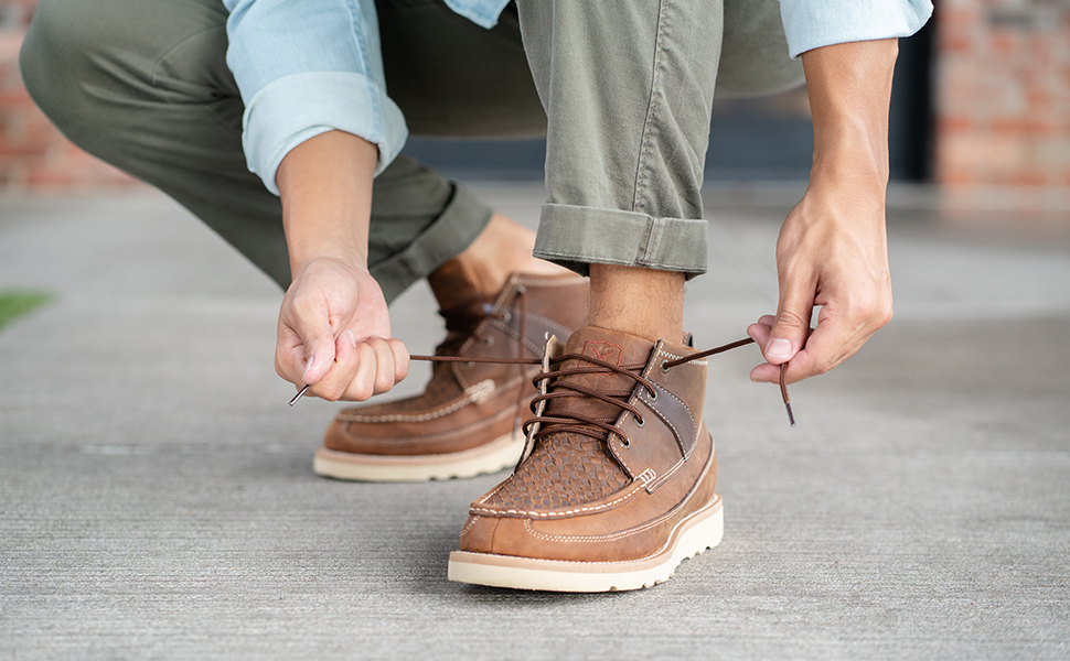 Twisted X Mens Casual Oiled Saddle Shoe
