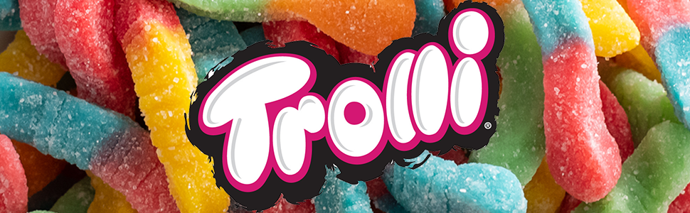 Trolli sour gummy candy