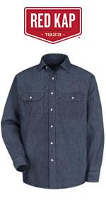 54281cac9c Deluxe Denim Work Shirt · Pocket T-Shirt · Ripstop MIMIX Long Sleeve  Workshirt · Wrinkle-Resistant Work Shirt