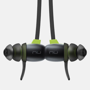 nuforce sport4 with magnetic end click together for tangle free carry