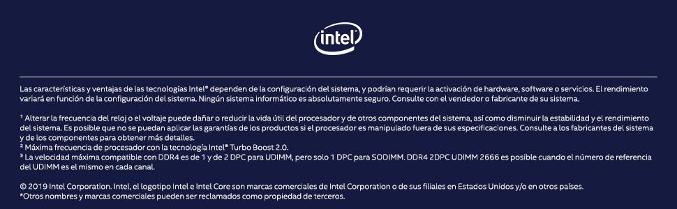 Procesador Intel Core i5 9600K